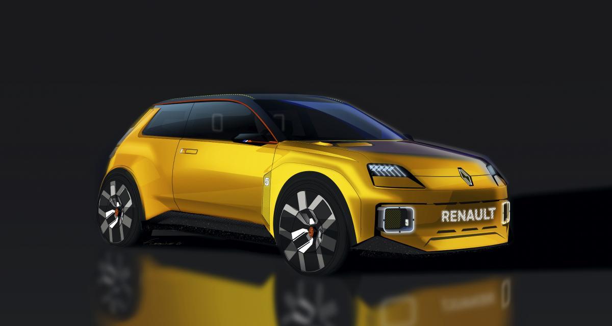 Renault dévoile un prototype de R5 100% électrique