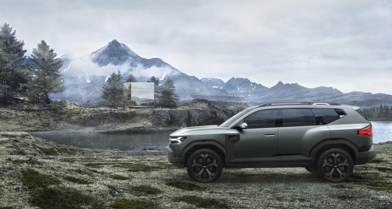 Le Dacia Bigster Concept, ou la promesse d'un nouveau carton sur le segment C