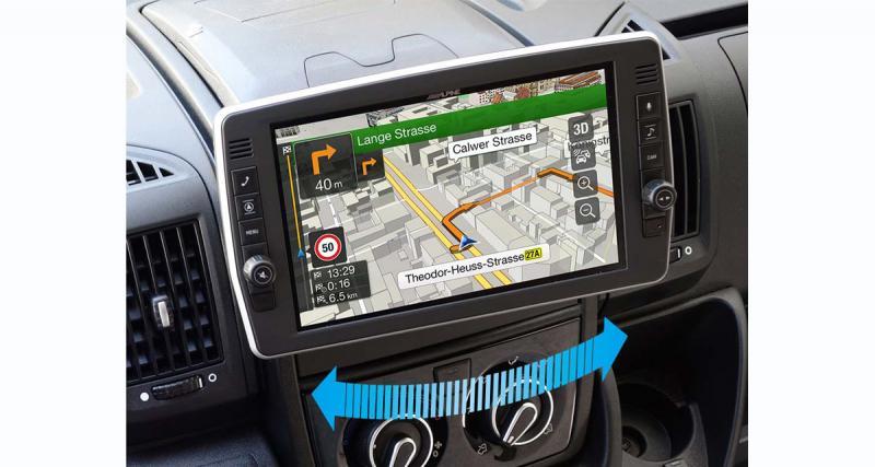 Un nouvel autoradio GPS pour les camping-cars Fiat Ducato chez Alpine-Electronics