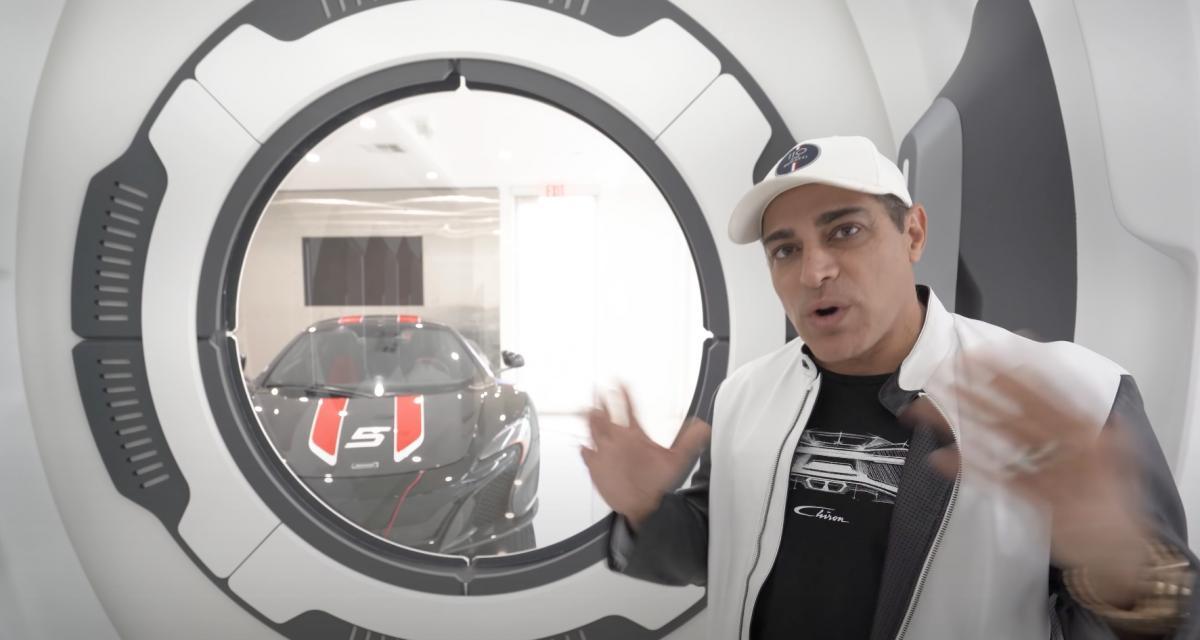VIDEO - Un nouveau garage ambiance vaisseau spatial et une collection de voitures à 30 millions de dollars