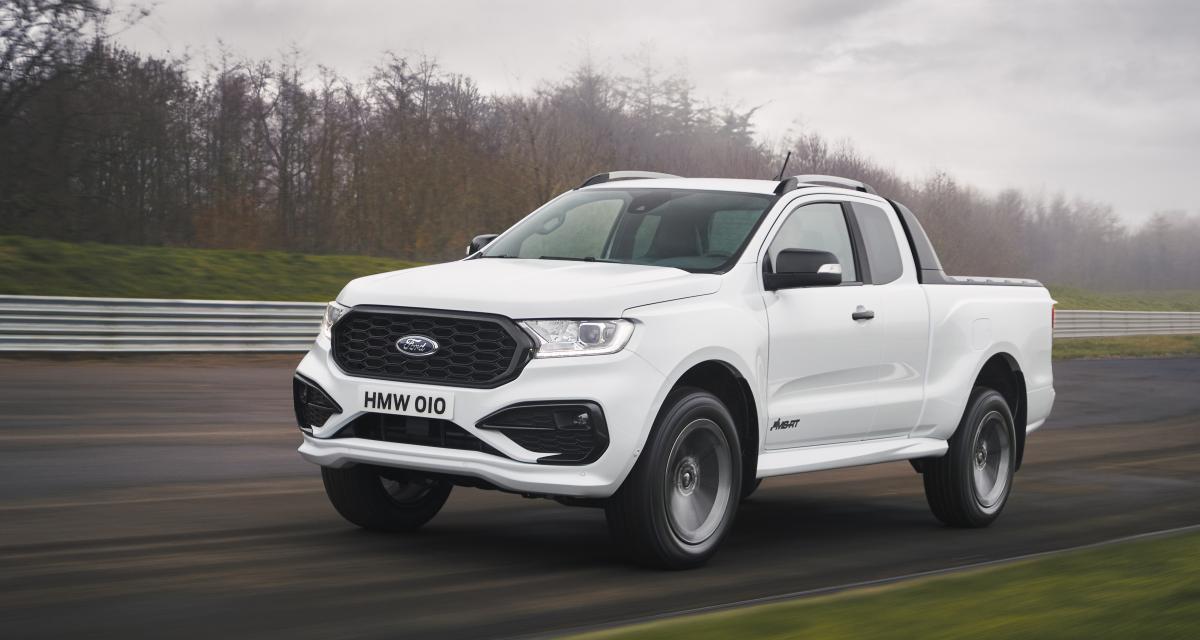 Ford Ranger MS-RT : esprit sportif pour ce pick-up en édition limitée