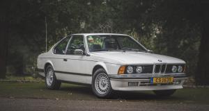 La BMW 635 CSi de Sir Sean Connery vendue aux enchères