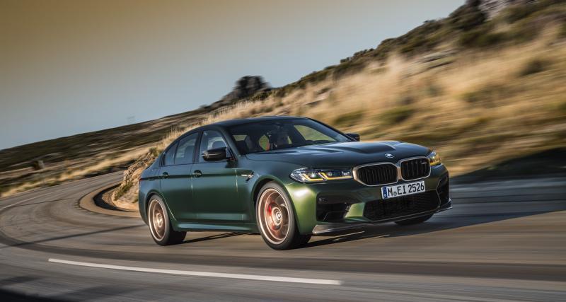 Nouvelle BMW M5 CS : la voiture la plus puissante de l'histoire de la marque pour 200.000 € !