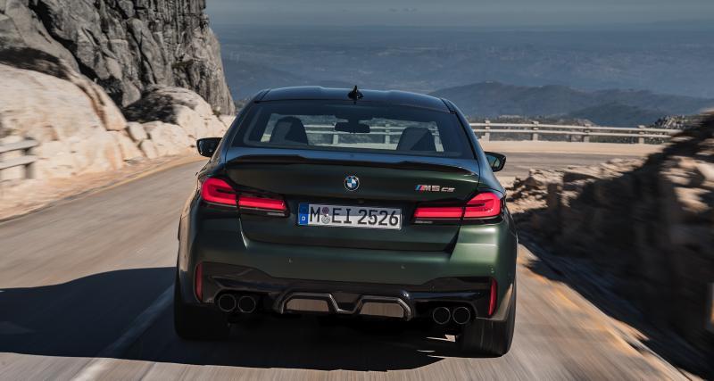 Actualité automobile: La BMW M5 CS entre en piste aux USA