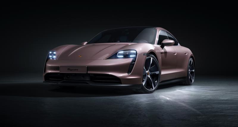 Porsche Taycan (2021) : un nouveau modèle d'entrée de gamme avec 484 km d'autonomie