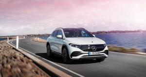 Nouveau Mercedes EQA (2021) : toutes les infos sur le SUV compact électrique à l'étoile