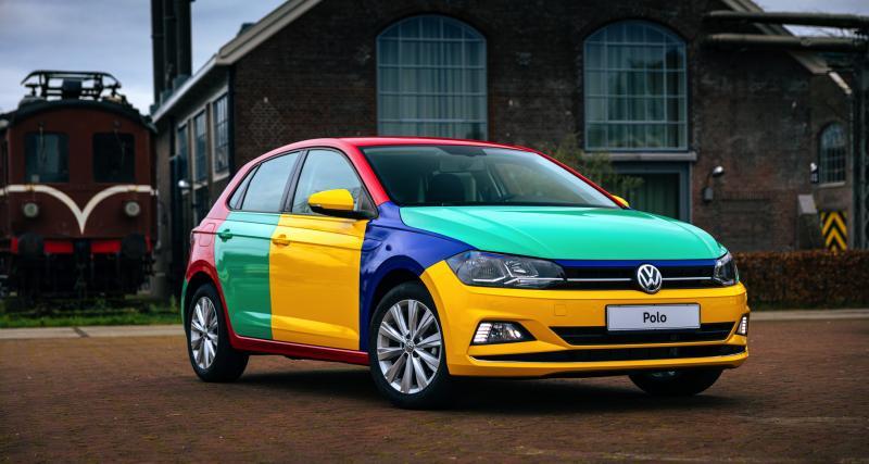 Volkswagen Polo Arlequin : hommage moderne à la fameuse citadine multicolore