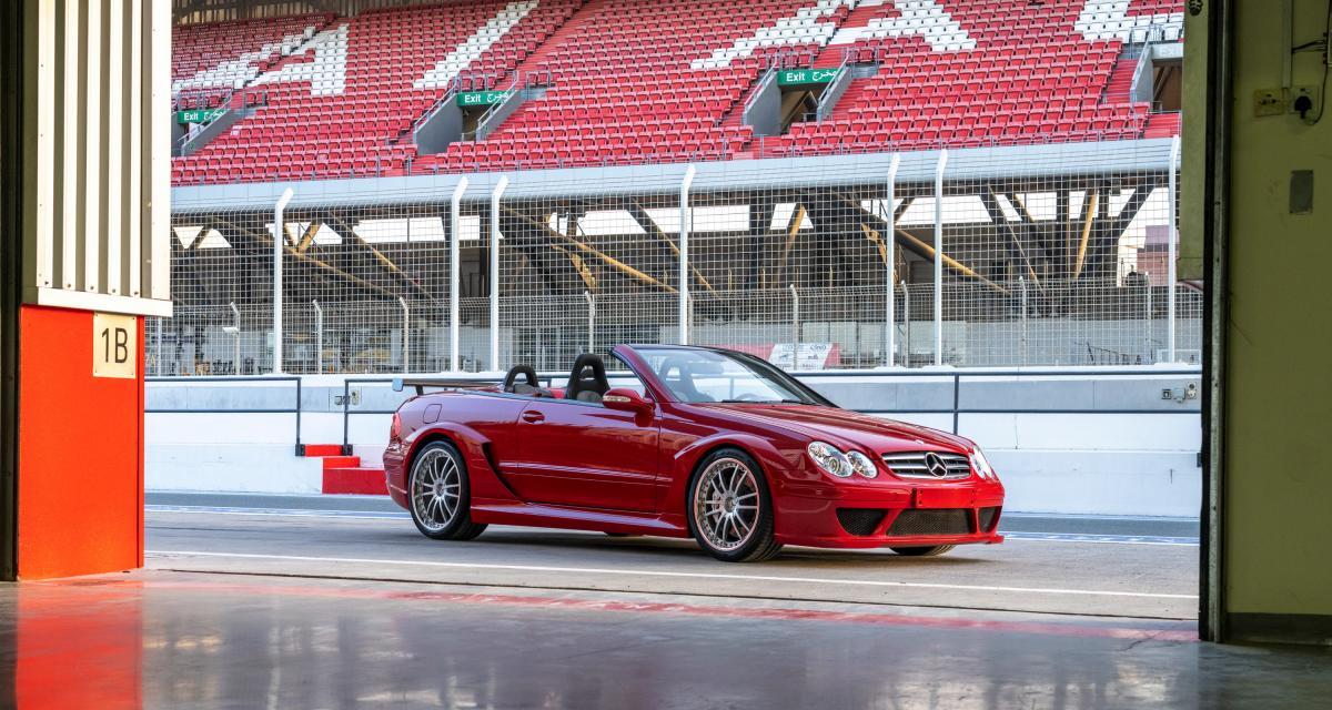 Mercedes CLK DTM AMG Cabriolet : le tourisme à grande vitesse en version décapotée