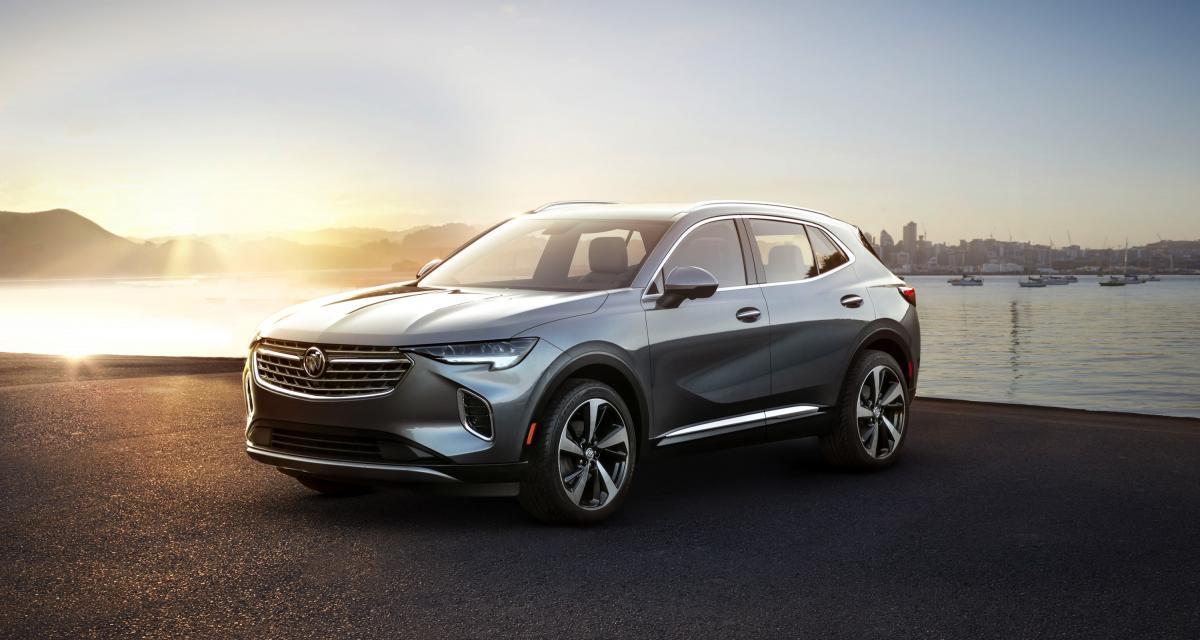 Buick Envision (2021) : l'Opel Grandland X du marché nord-américain