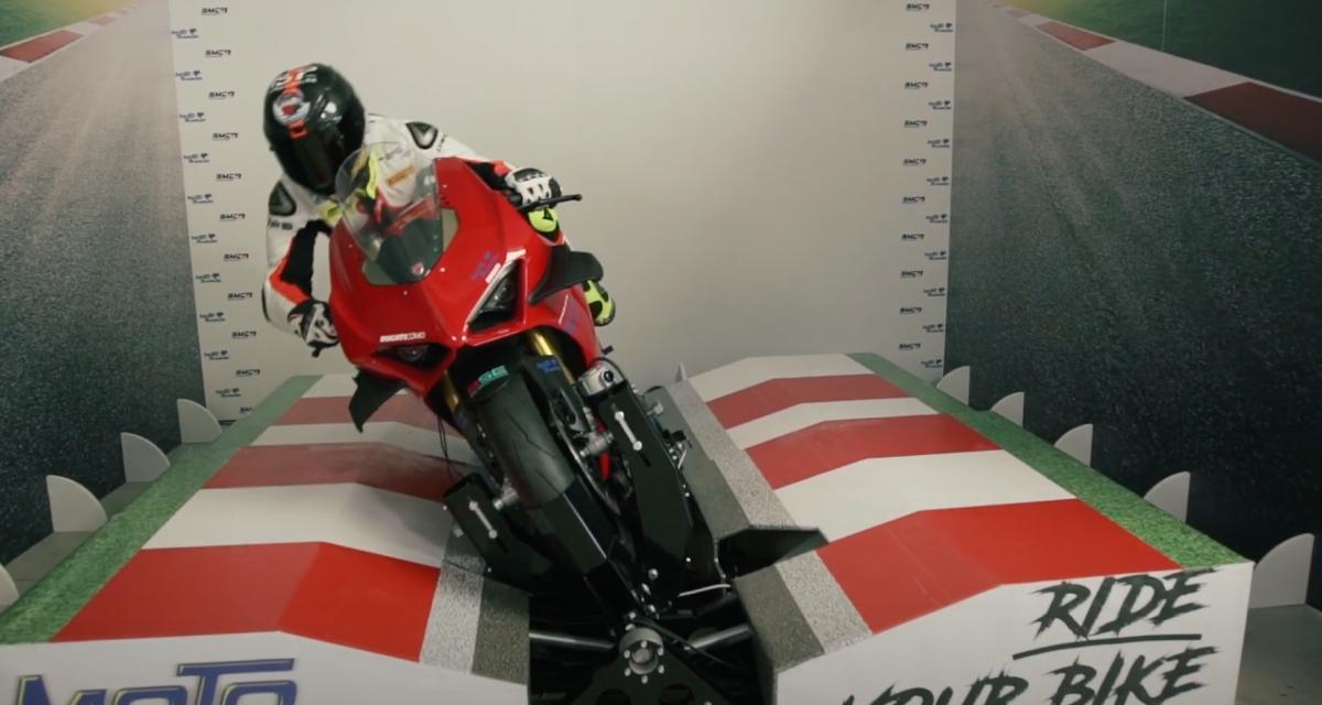 VIDEO - La moto aussi va avoir le droit à son apparition dans l'E-sport grâce à ce simulateur incroyable