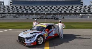 Hyundai Elantra N TCR (2021) : un nouveau bolide pour le championnat IMPC aux States