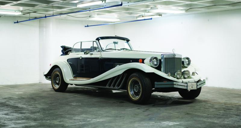 Une rare voiture de collection au coeur d'un conflit d'héritage retrouvée grâce à l'urbex
