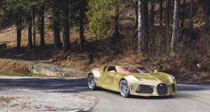 Et si la Bugatti La Voiture Noire se parait d'or ?