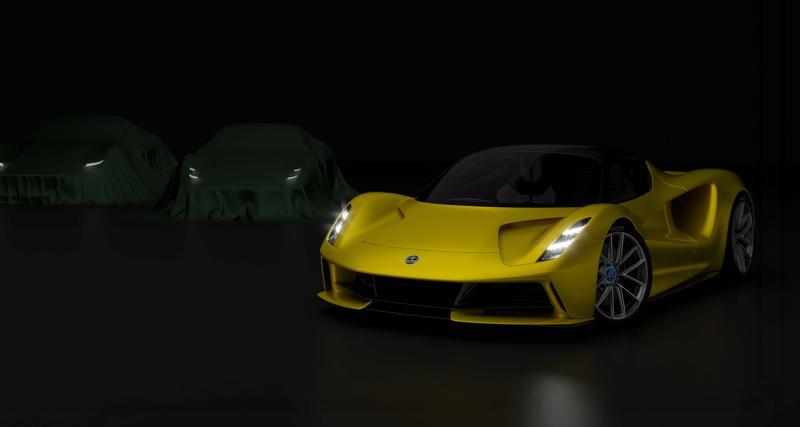 Grand chamboulement en perspective pour la gamme Lotus