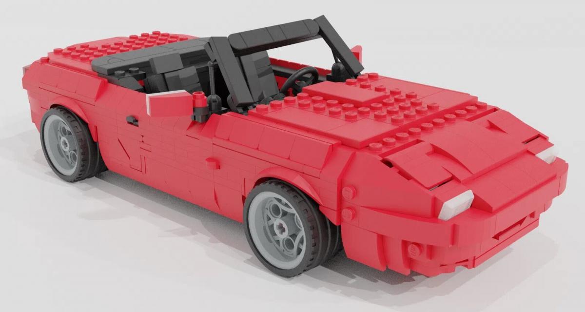 Construisez une Mazda MX-5 en Lego plus vraie que nature