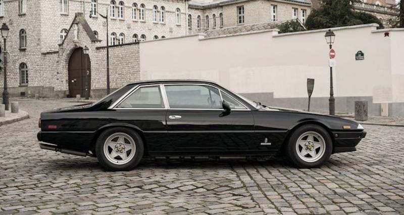 La Ferrari 400i Automatic châssis N°43255