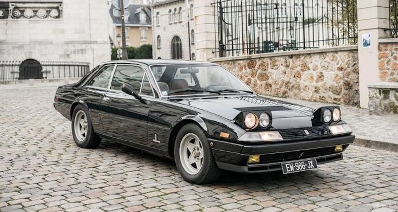 La Ferrari 400i de John McEnroe à vendre sur Catawiki
