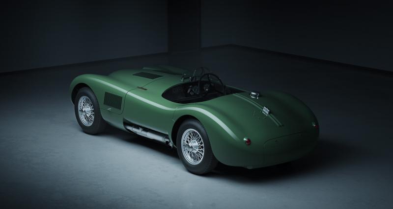 Jaguar Type C Continuation : huit voitures des années 50 reproduites à l'identique