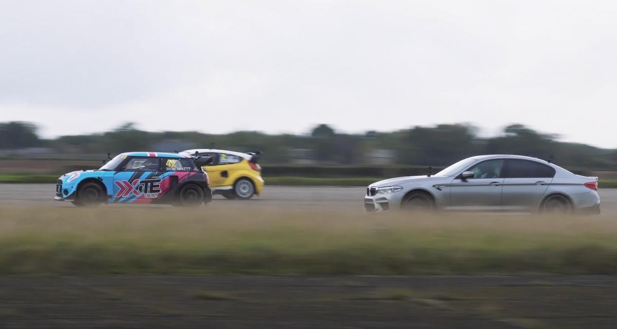VIDEO - Une BMW de 1.000 chevaux peut-elle battre des voitures de rallye ?