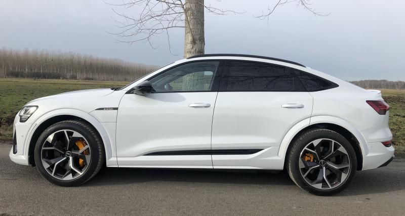 Essai du nouvel Audi e-tron S Sportback Extended : nos photos de la déclinaison sportive