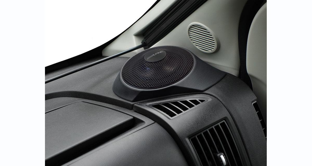 Alpine-Electronics commercialise des haut-parleurs spécifiques pour le Fiat Ducato