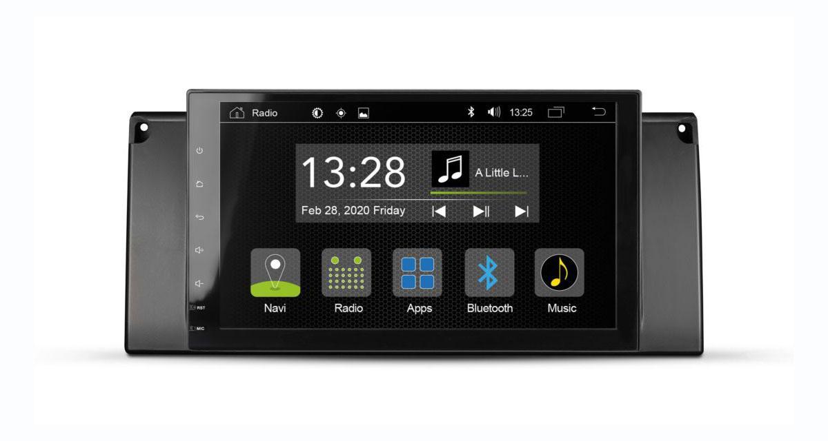 Radical commercialise un autoradio Android avec DAB pour les BMW E39