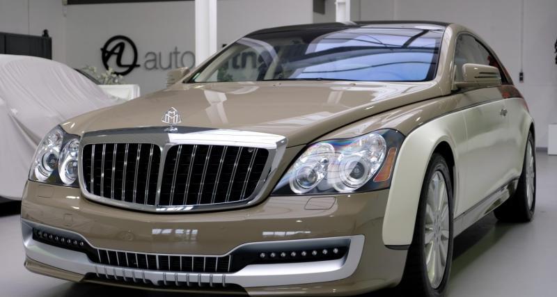 Maybach 57 S Coupé by Xenatec : le luxe ultime à l'allemande pour 1M€