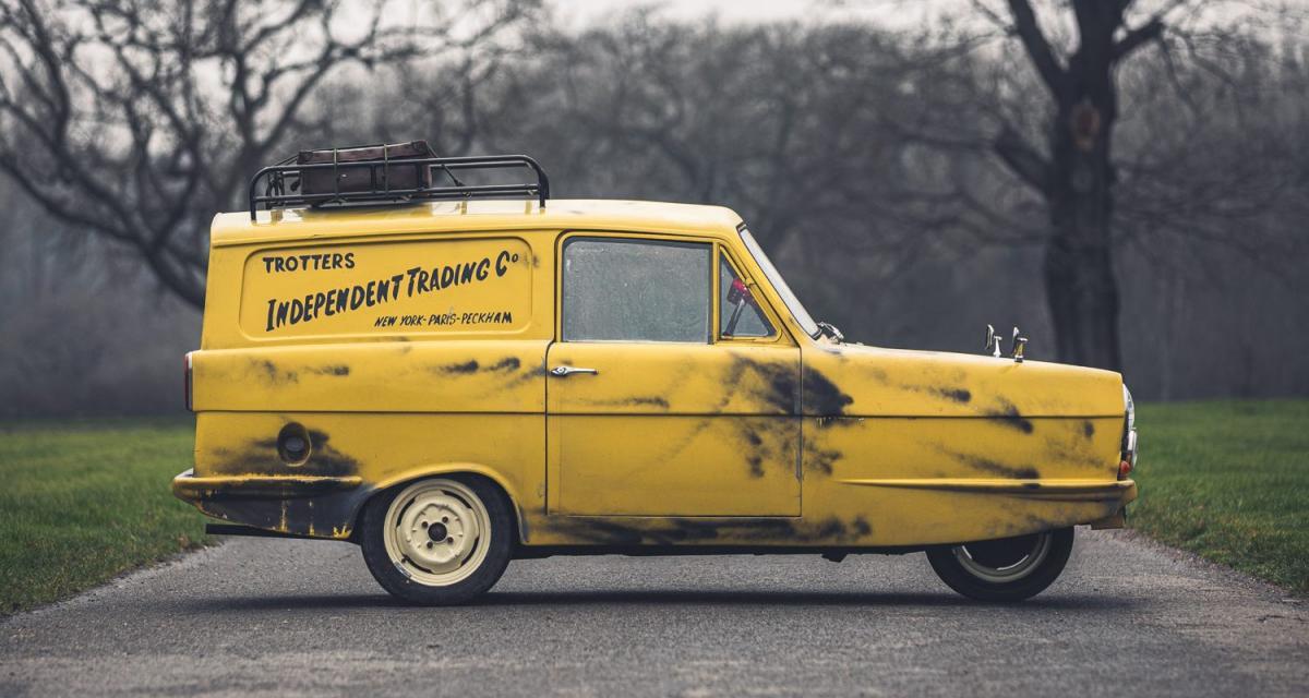 Reliant Regal Supervan III : trois roues pour une star de série TV