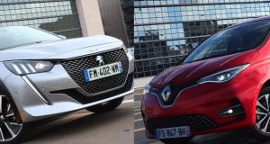 Peugeot e-208 vs Renault Zoé : match électrique