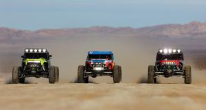 Ford a développé des protos de compétition sur base de Bronco pour l'Ultra4