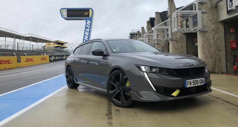 Essai de la nouvelle Peugeot 508 SW PSE : kilowatts et kryptonite