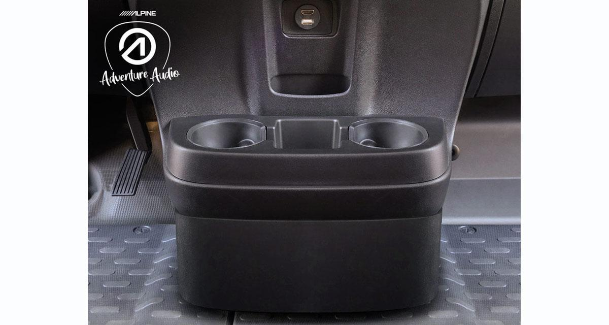 Alpine-Electronics commercialise un caisson de grave spécifique pour le Fiat Ducato