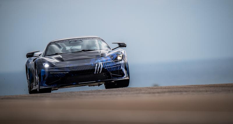 La Pininfarina Battista hyper GT est au goût d'un ancien pilote de F1