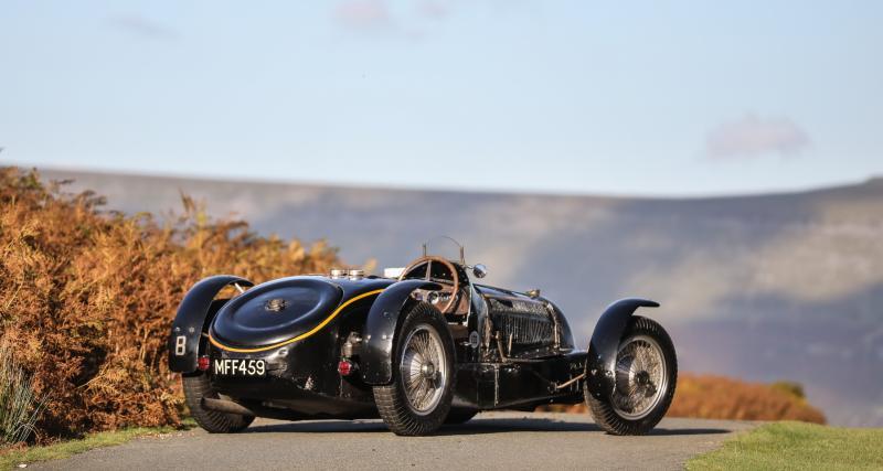 Records de vente aux enchères automobiles en 2020 : un top 5 100% Bugatti