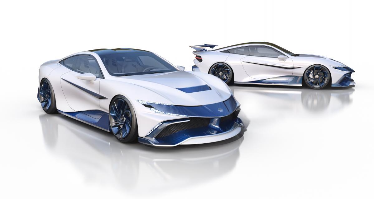 Naran Hyper Coupé : l'hypercar qui se transforme en voiture de course en 20 minutes