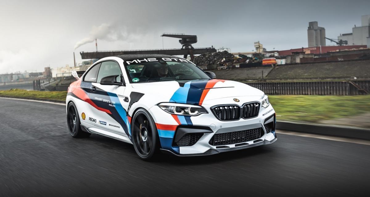 La BMW M2 CS radicalisée par Manhart devient la MH2 GTR