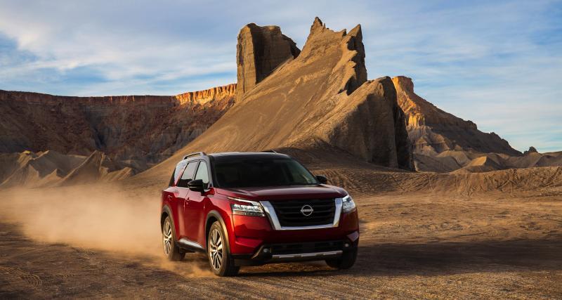 Nouveau Nissan Pathfinder (2022) : retour en fanfare du SUV à l'ancienne aux USA