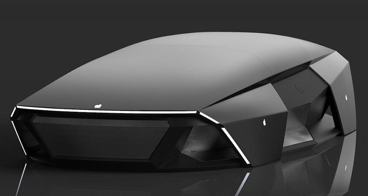 Autonome, électrique et en forme de souris d'ordinateur : voici l'Apple Car 2076