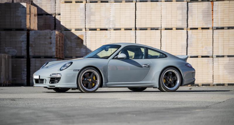 Une incroyable collection suisse de sept Porsche rares aux enchères
