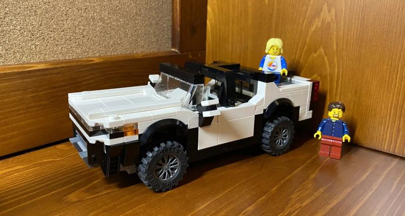 Hummer EV : pas encore sorti, déjà en version Lego !