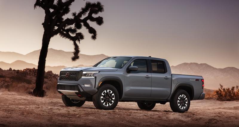 Nouveau Nissan Frontier (2022) : une nouvelle génération pour rester dans le coup