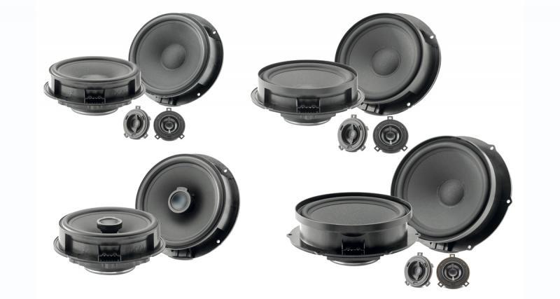 Focal dévoile sa nouvelle gamme de haut-parleurs « plug and play » pour de nombreux véhicules du groupe VAG