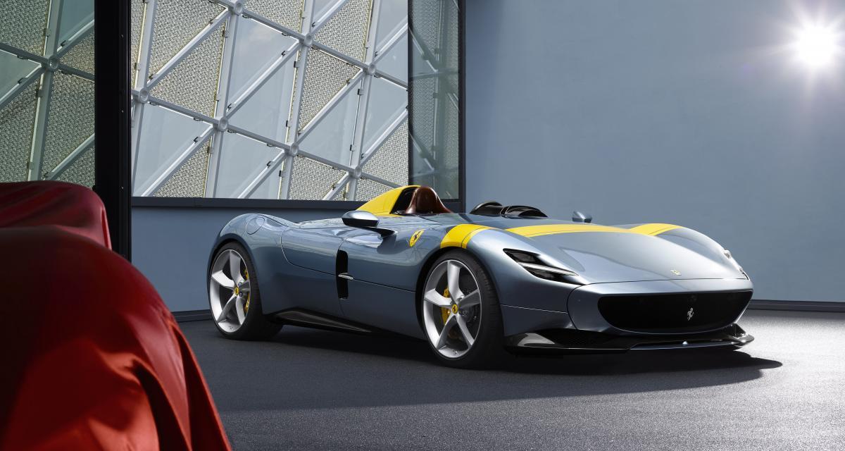 Zlatan Ibrahimovic se la raconte au volant de sa magnifique Ferrari Monza SP2