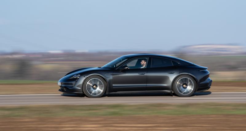 La Porsche Taycan, la puissance de l'électrique