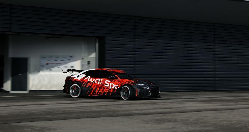 """Nouvelle Audi RS 3 LMS (2021) : la compétition """"accessible"""", le style en prime"""