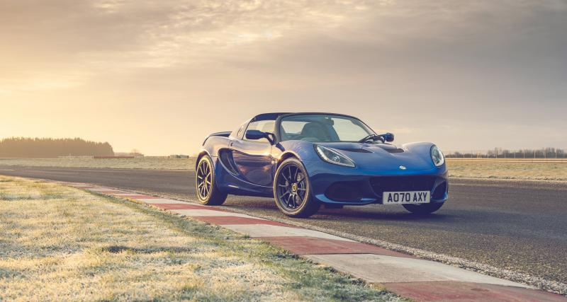 Lotus Elise Final Edition