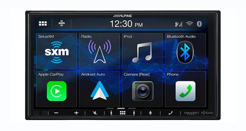 Alpine-Electronics dévoile un autoradio CarPlay Android Auto à moins de 400 dollars