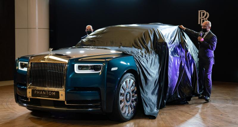 "Rolls-Royce Phantom ""Iridescent Opulence"" : la plume d'oiseau comme objet d'art"