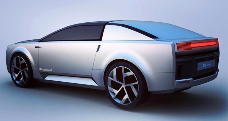 Microsoft Surface Car : une voiture autonome sous Windows ?
