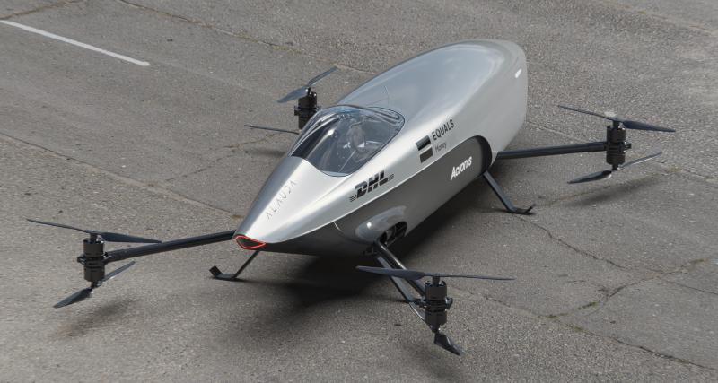 Alauda Airspeeder Mk3 : la première voiture électrique volante est prête !